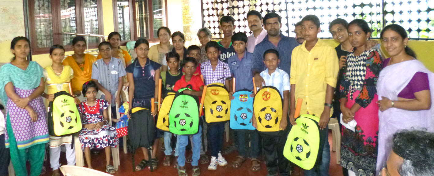 Schoolkit Distribution for patients children