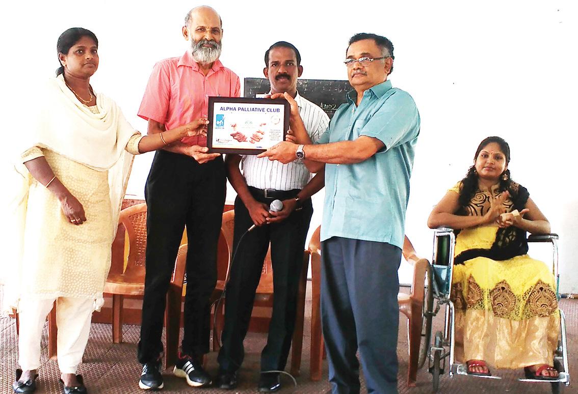 Palliative Club Formation Thrissur NSS School
