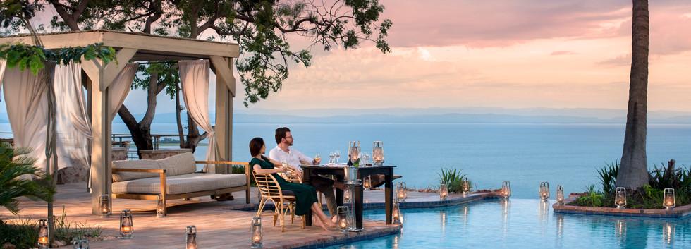 Honeymoon Sundowner at Bumi Hills