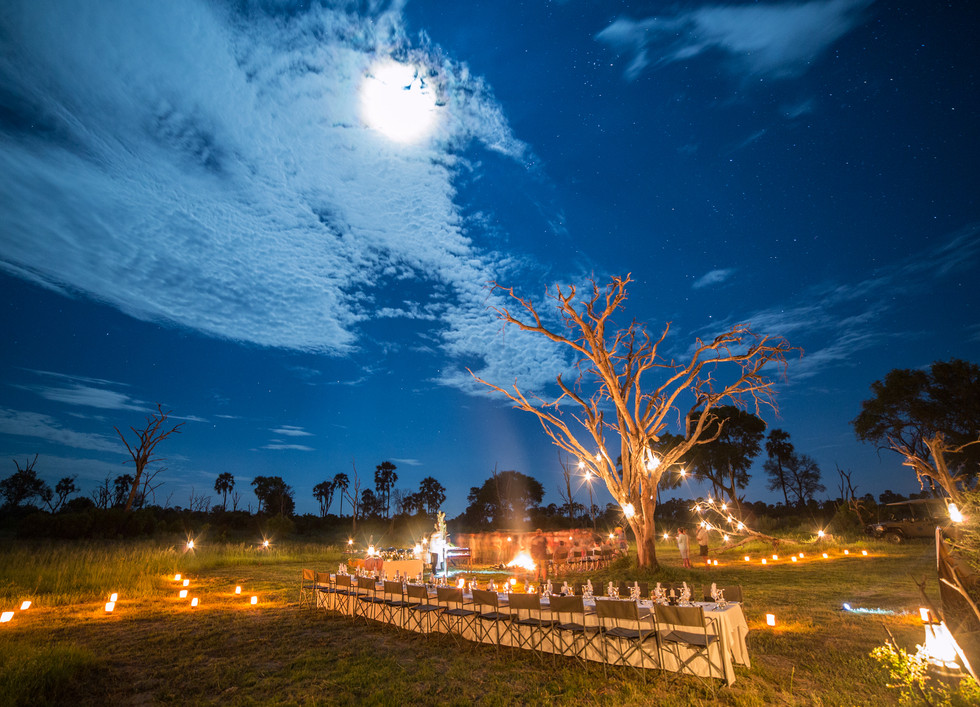 Gomoti Plains Camp - Under the African Sky