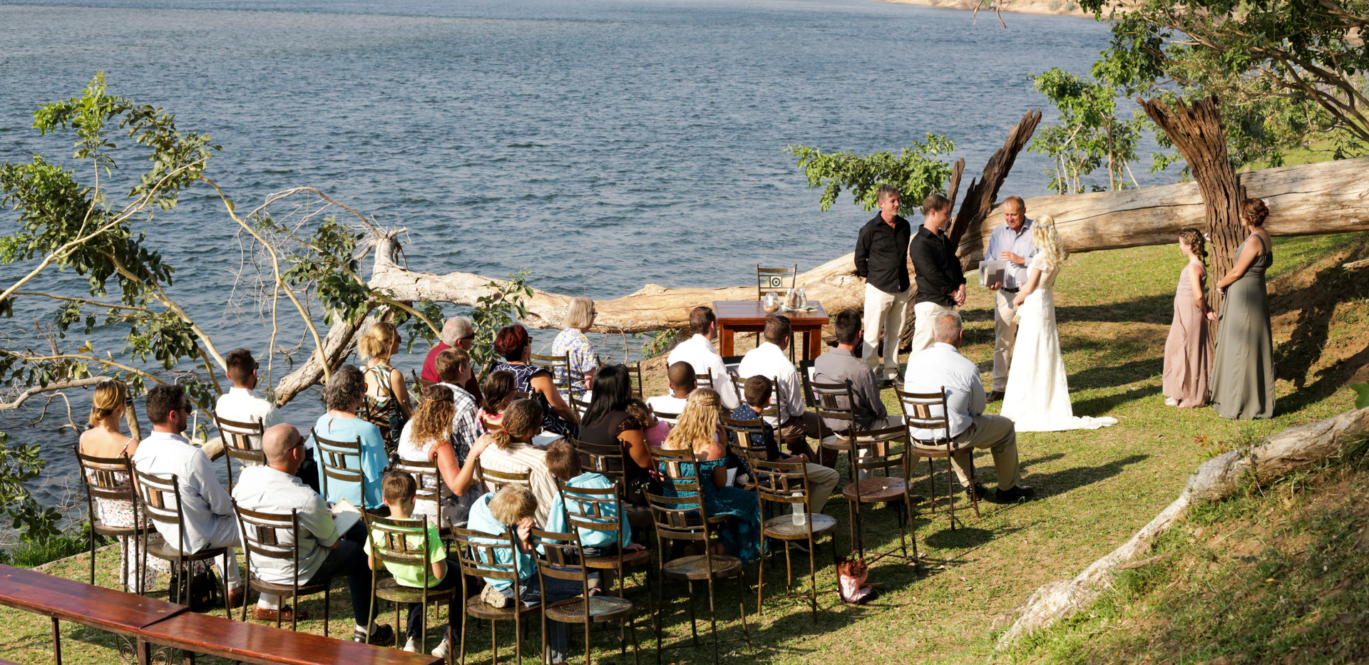 Ceremony at Tiger Safaris