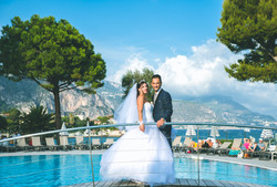 photo mariage Domaine piscine