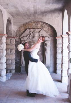 photographie mariage Colline du chateau