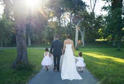 photo mariage en famille avec les enfant