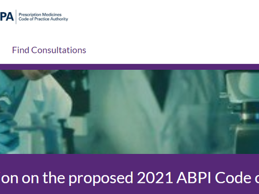 ABPI Consultation on proposed 2021 ABPI Code