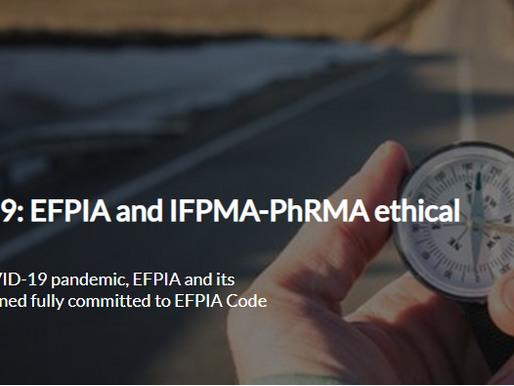 Joint IFPMA/EFPIA/PhRMA guidance on international congresses conducted virtually due to COVID-19