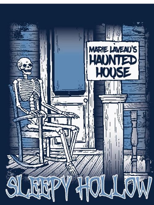 Haunted House-Comfort Colors-T-shirt