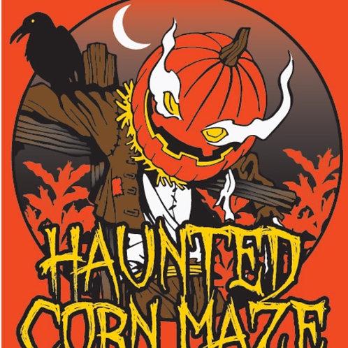 Haunted Corn Maze-Comfort Colors T-shirt