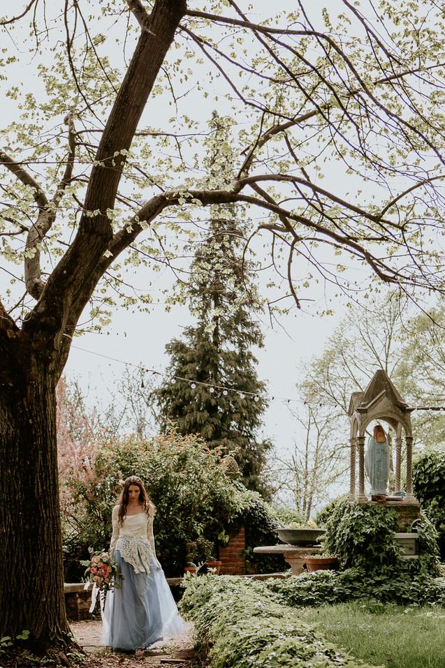 Matrimonio giardino segreto