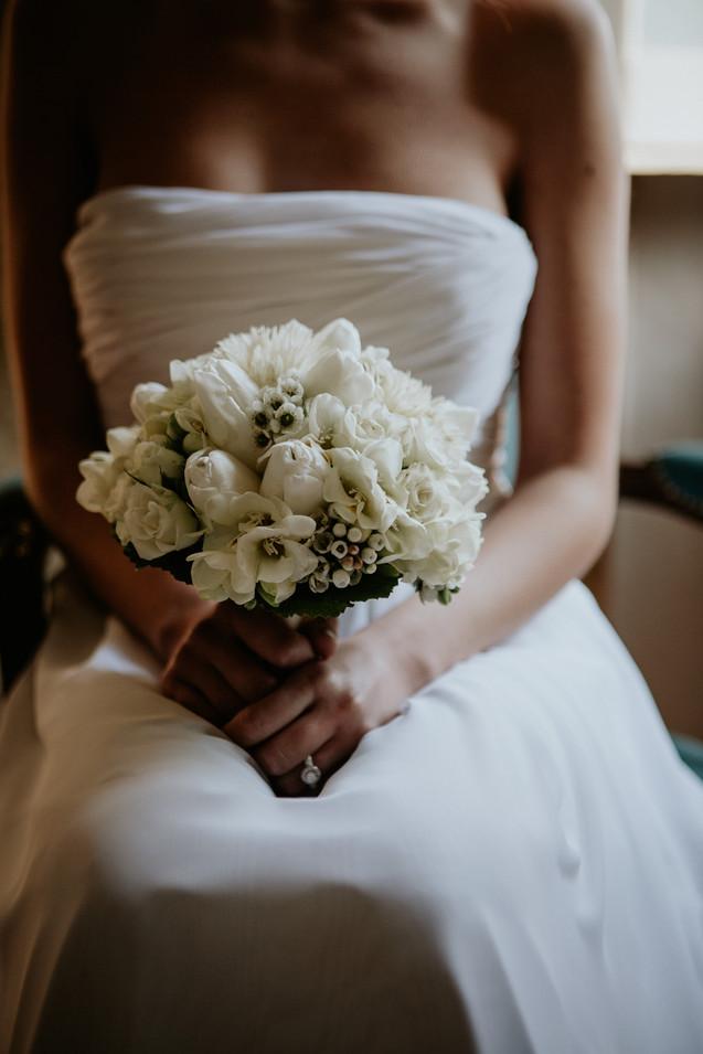 Bouquet matrimonio inverno