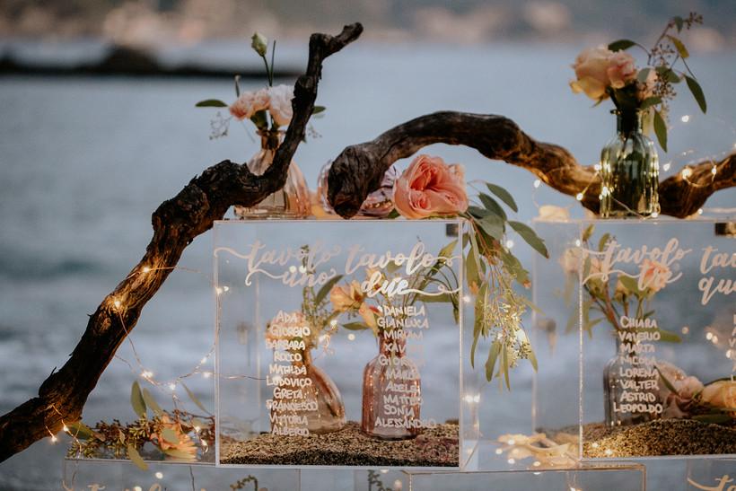fiori matrimonio mare
