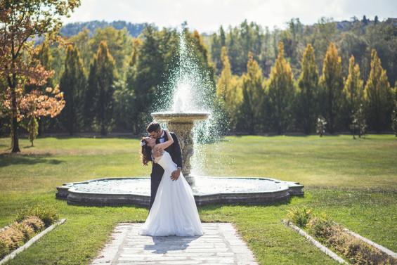 matrimonio villa elegante