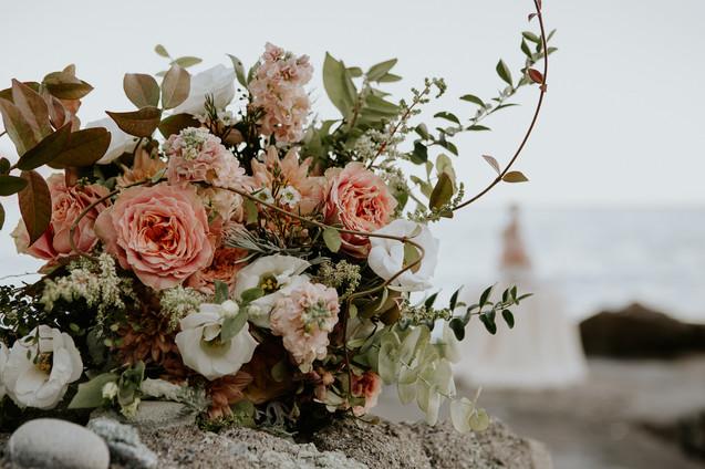 bouquet sposa mare