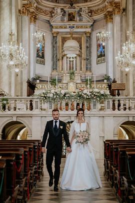 matrimonio uscita sposi