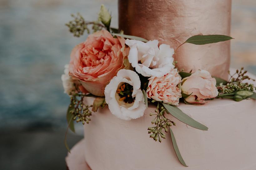 wedding cake spiaggia