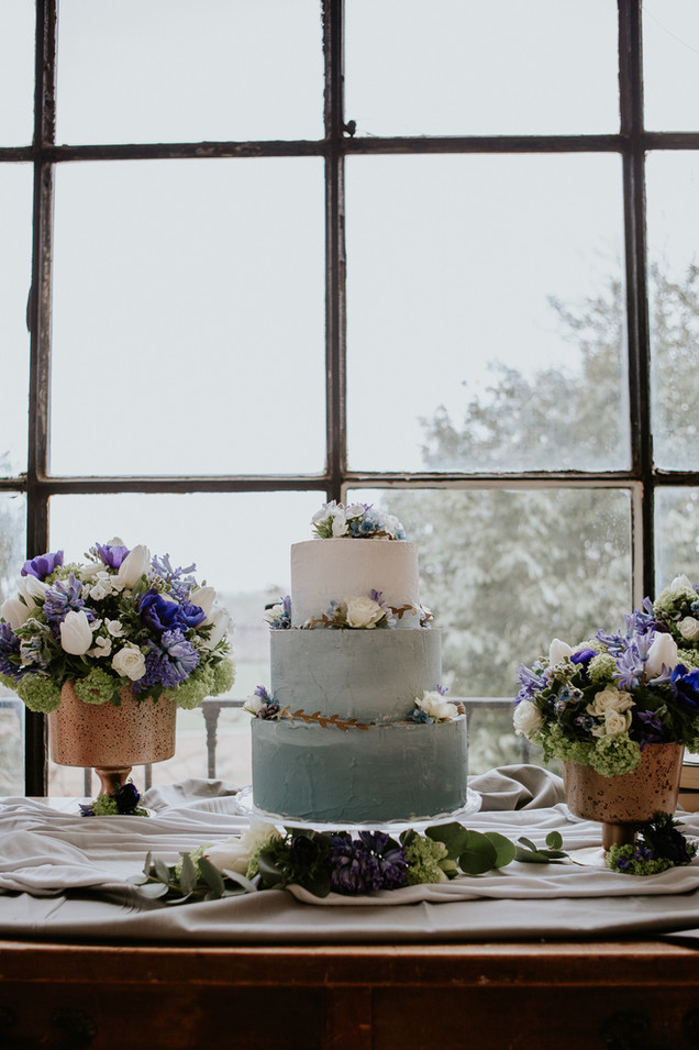 torta matrimonio sfumata