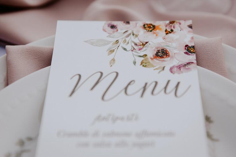 tavolo matrimonio mare