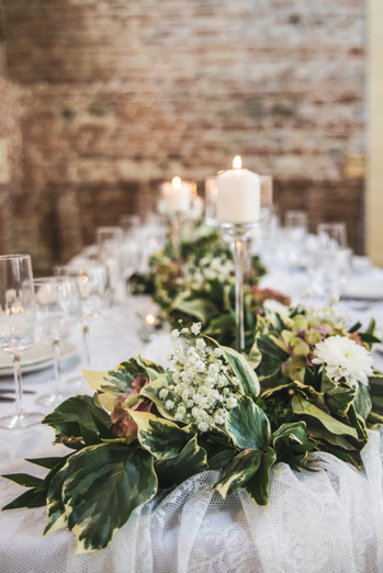centro tavola matrimonio elegante