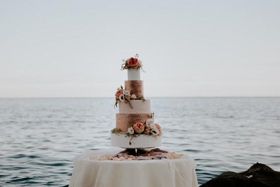 wedding cake portofino