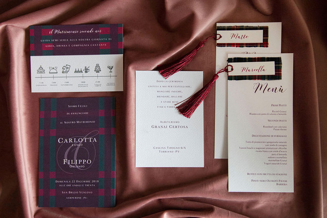 partecipazioni matrimonio Pavia