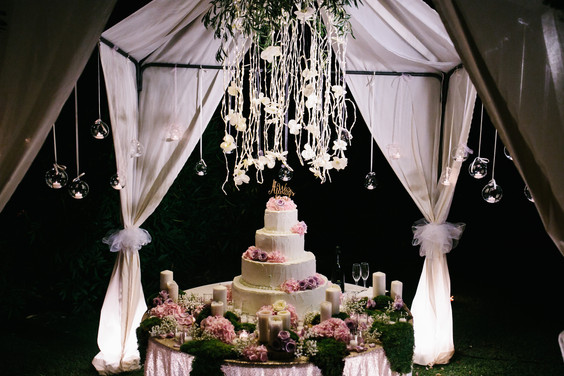 wedding cake villa lagorio