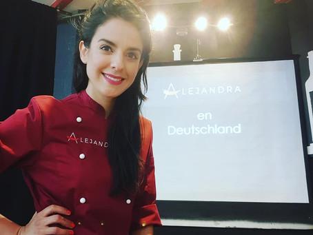 Alejandra en DEUTSCHLAND, conference