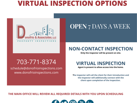 Donofrio Inspections COVID-19 Update