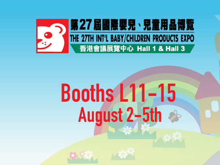[ENDED] Baby Expo 2019 (Aug 2 & 3, Booth L11-15)