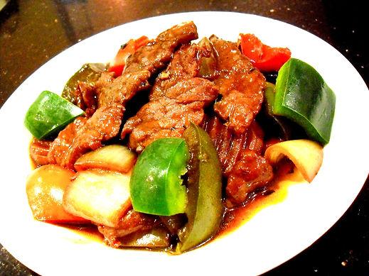 109. Lamb in Chilli Black Bean Sauce