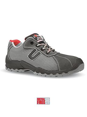 Chaussure de sécurité basse S1P SRC cuir et velours
