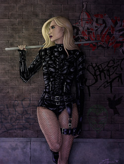 Black Canary - Colored