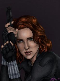 Black Widow - Colored