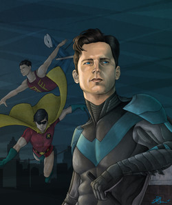 Dick Grayson Then and Now