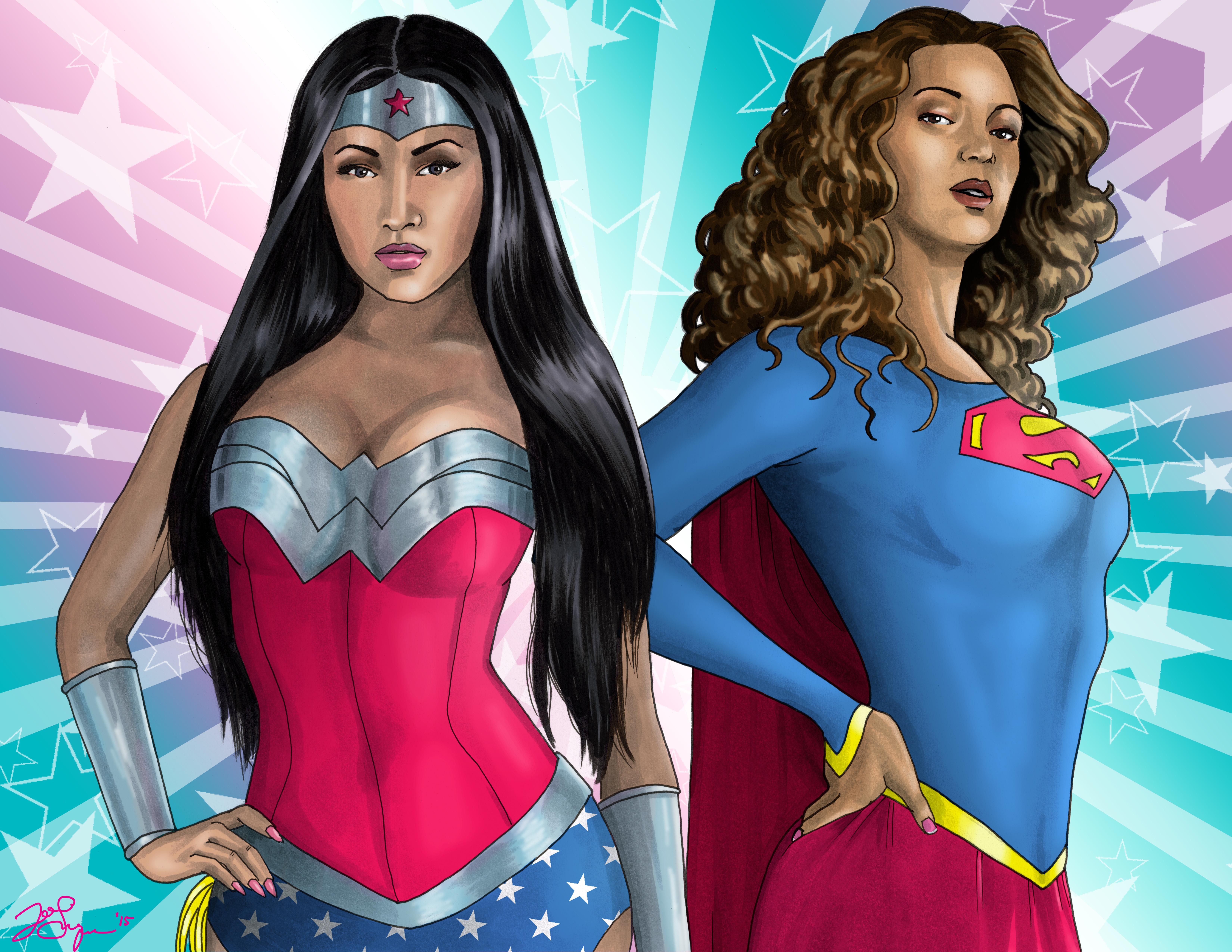 Diva Superheroes