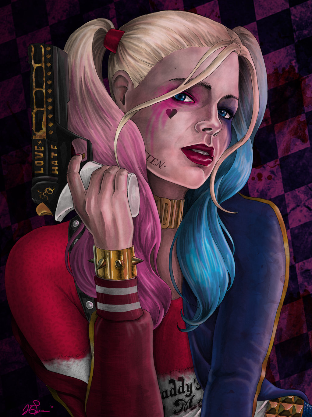 margot_robbie_as_harley_quinn_by_jgiampietro-d9lkn1w