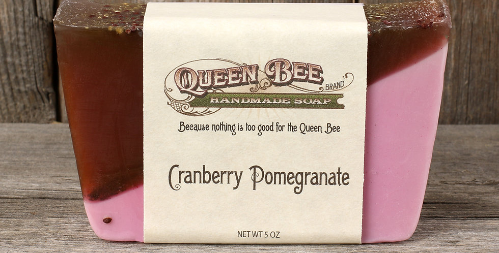 Cranberry Pomegranate Soap