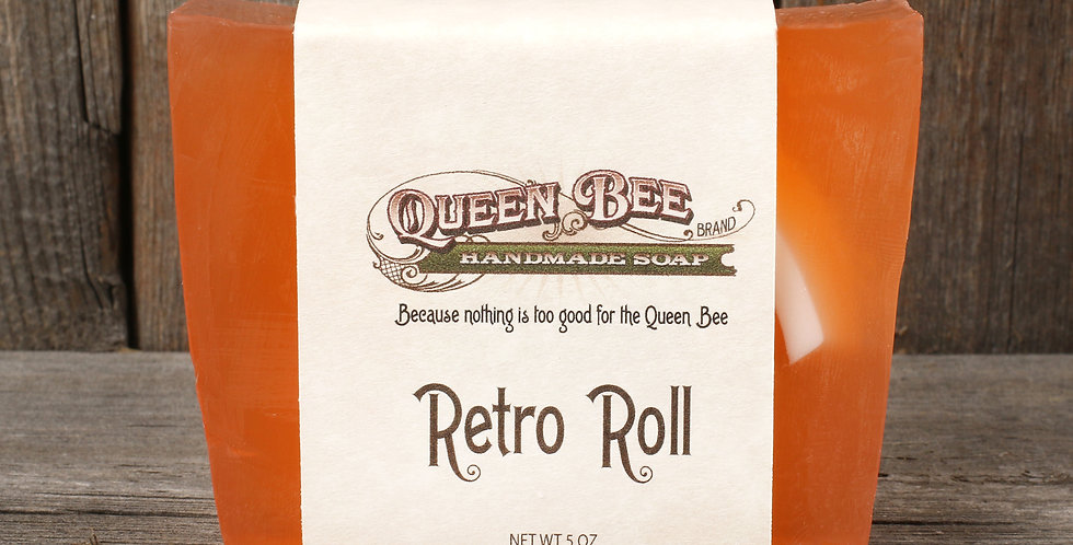Retro Roll Soap
