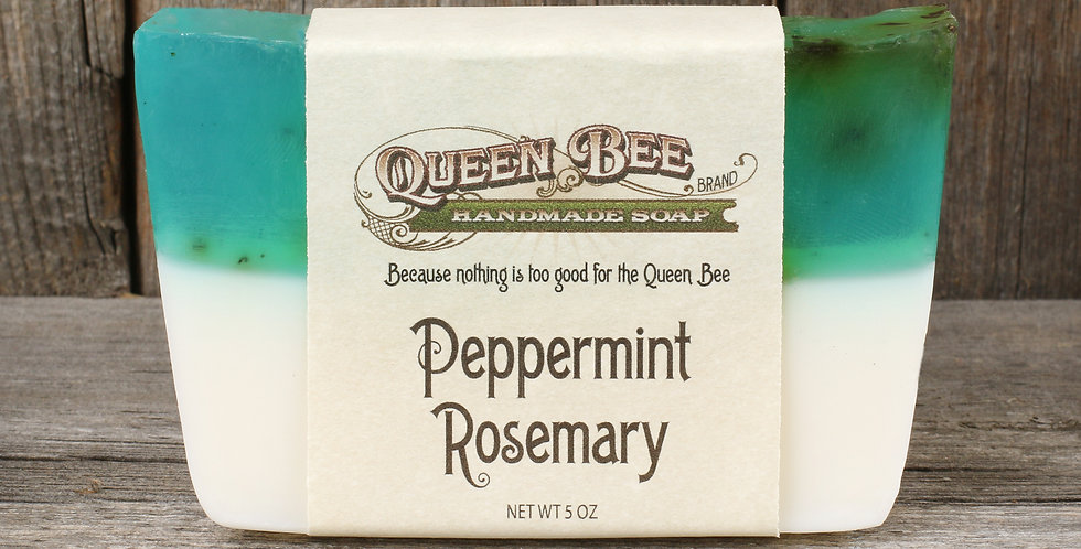 Peppermint Rosemary Soap