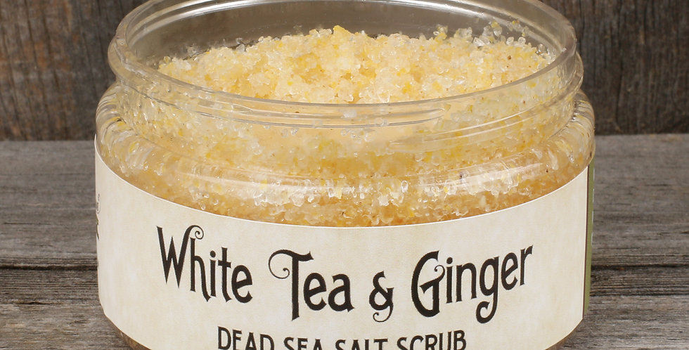 White Tea & Ginger Scrub