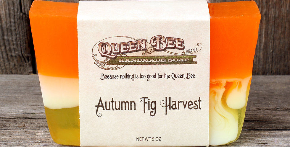 Autumn Fig & Harvest Soap