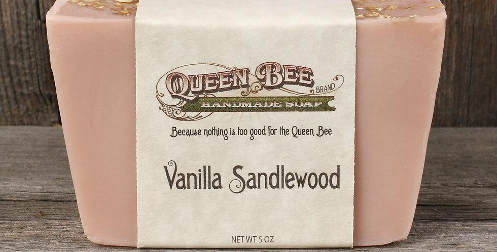 Vanilla Sandlewood Soap
