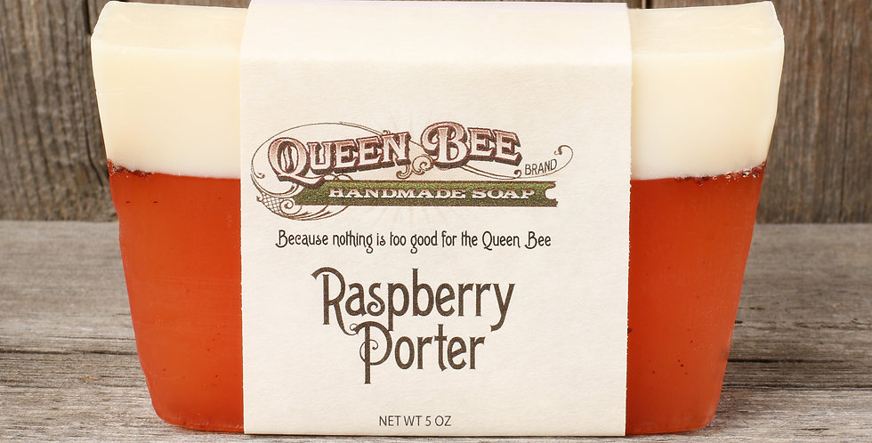 Raspberry Porter Soap