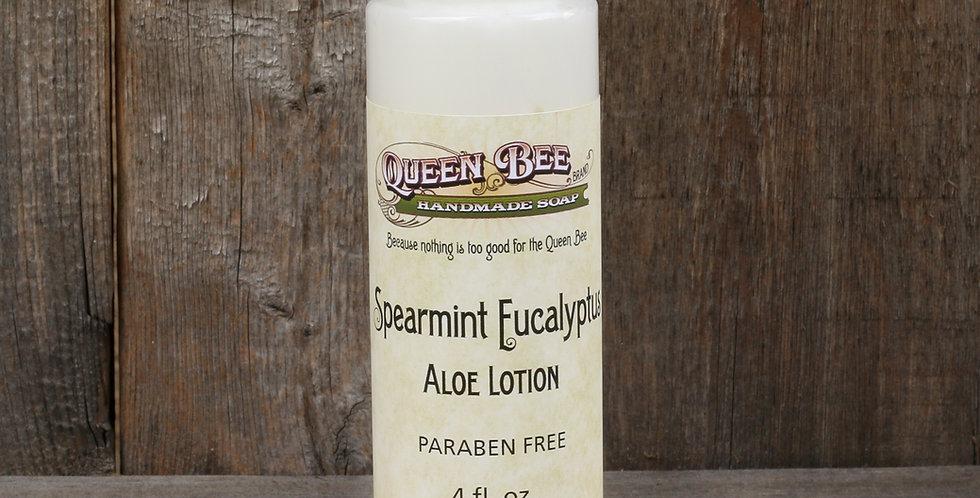 Spearmint Eucalyptus Lotion