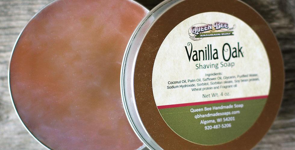 Vanilla Oak Shaving Soap