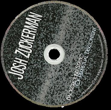 Josh Zuckerman Background Static of Pertpetual Discontent CD