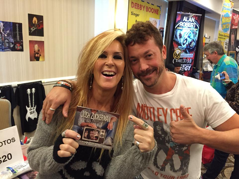 Josh Zuckerman & Lita Ford