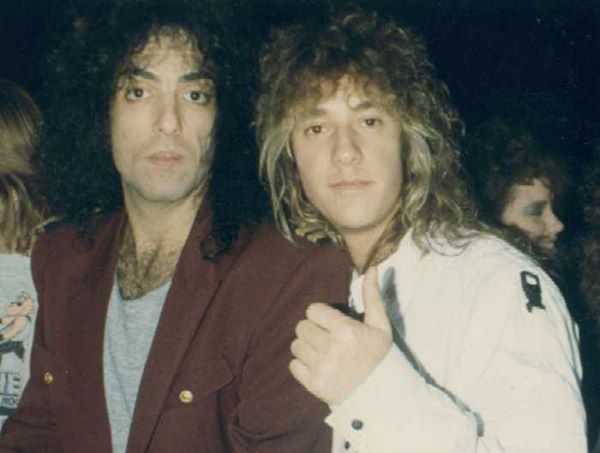 JOSH ZUCKERMAN, PAUL STANLEY 1988