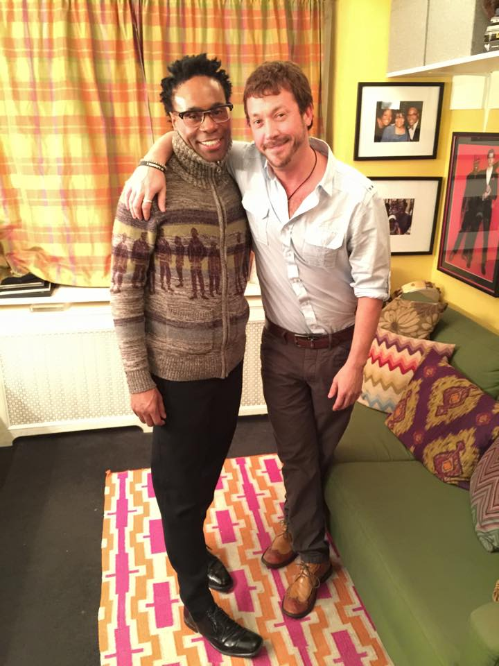 Josh Zuckerman and Billy Porter