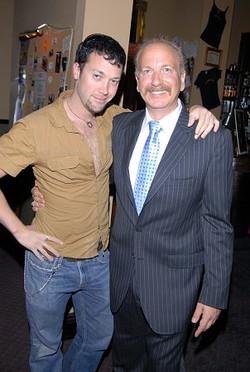 Josh Zuckerman with Mark Bego