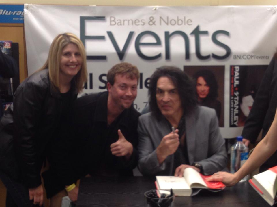 Josh Zuckerman with Paul Stanley